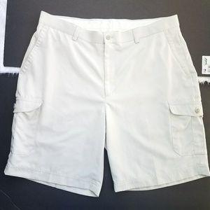 🌵Men's Cream Cargo Shorts Sz 38
